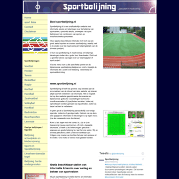 Sportbelijning.nl thumbnail