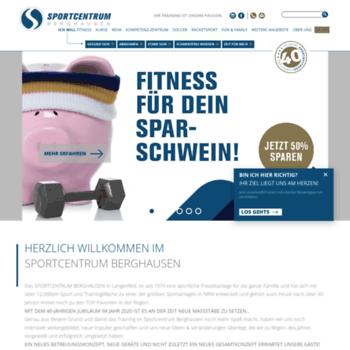 sportcentrum berghausen