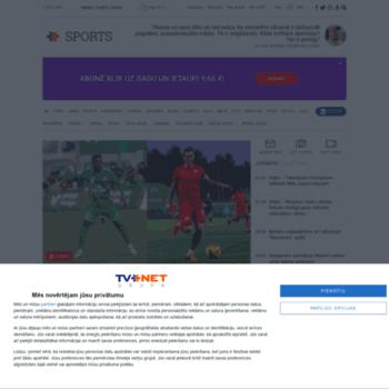 Sports.tvnet.lv thumbnail