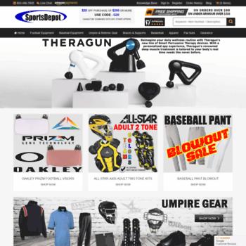 Sportsdepot.com thumbnail