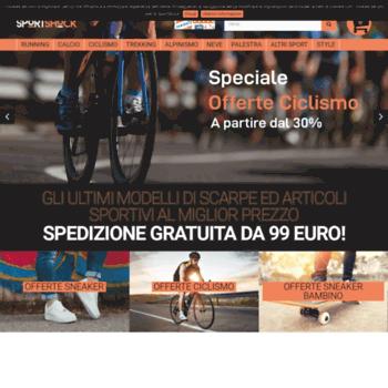 48adf4725b197 Il miglior shopping online per scarpe sportive ed articoli sportivi -  SportShock. Visit sportshock.it