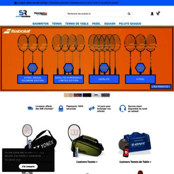 Sportsraquettes.fr thumbnail