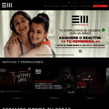 Sportsworld.com.mx thumbnail