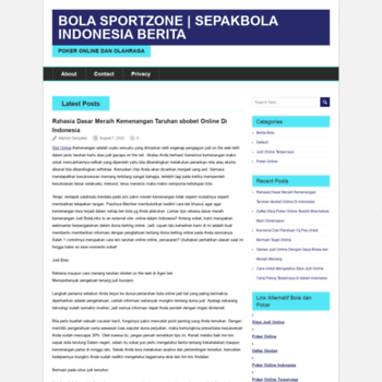 Веб сайт sportszone55.com