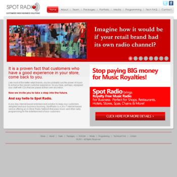 Spotradio.in thumbnail