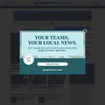springfieldnewsleader com at WI  Springfield News-Leader