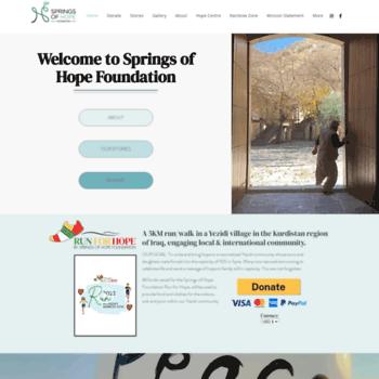 Springsofhope.foundation thumbnail