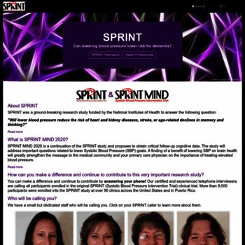 Sprinttrial.org thumbnail