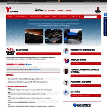 Sptrans.com.br thumbnail