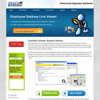 Spysoftwaredownload.net thumbnail