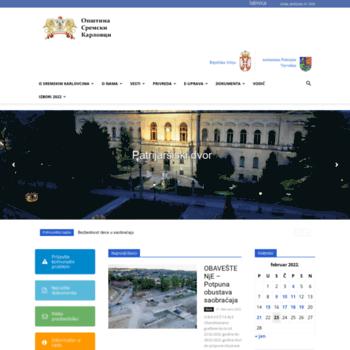 Sremskikarlovci.rs thumbnail