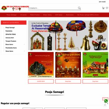 srisaipoojasamagri com at WI  Buy Pooja Items Online | Sri Sai Pooja