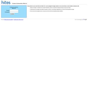 sso hites cl at Website Informer  Gmail  Visit Sso Hites