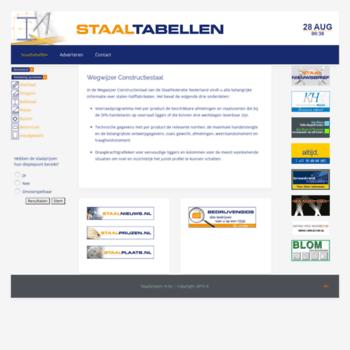 Staaltabellen.nl thumbnail