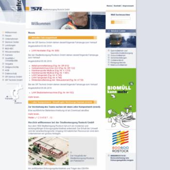 Stadtentsorgung-rostock.de thumbnail