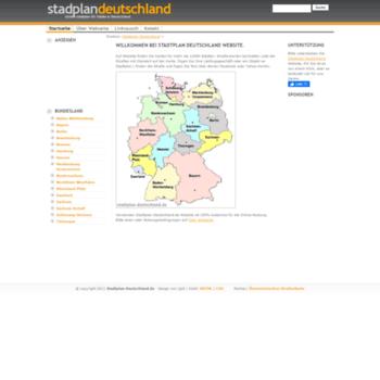 Stadtplan-deutschland.de thumbnail