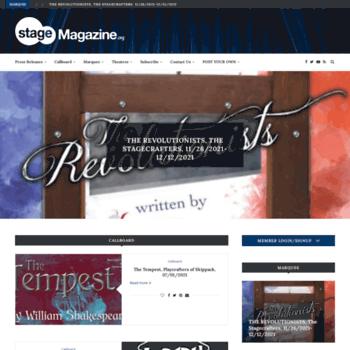 Stagemagazine.org thumbnail