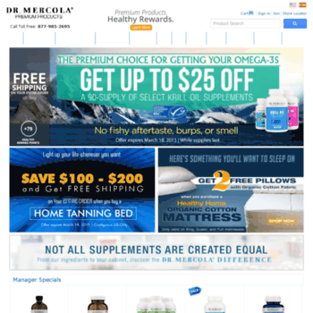 stageshop mercola com at WI  Recommended Health Products By