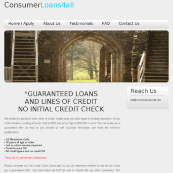 consumerloans4all.com