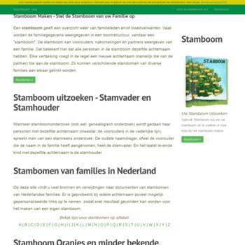 Stamboom.org thumbnail