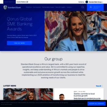 Standardbank.com thumbnail