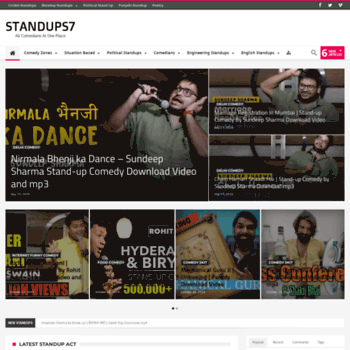 Standups7.com thumbnail