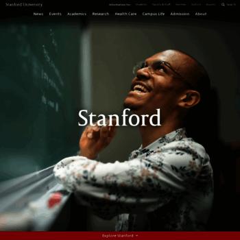 Stanford.edu thumbnail