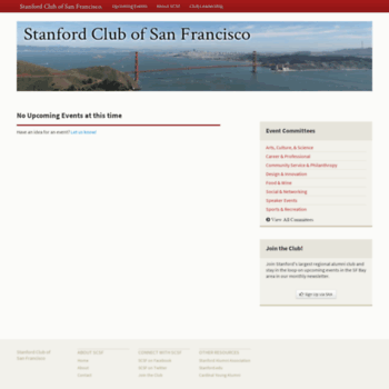 Stanfordclubsf.org thumbnail
