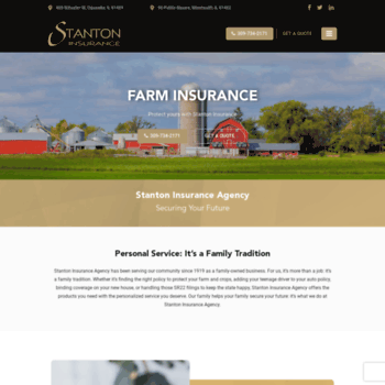 Stantoninsurance Com At Wi Independent Insurance Agent In