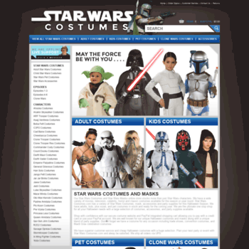 Starwarscostumes.com thumbnail