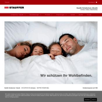 Stauffer-schallschutz.ch thumbnail