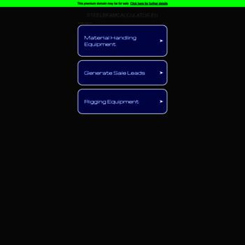 steelbeamcalculator eu at Website Informer  IIS7  Visit