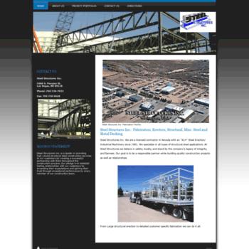 Steelstructuresnv.info thumbnail