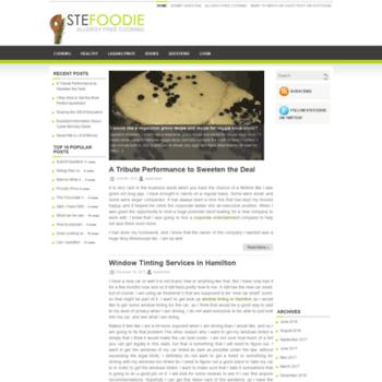 Stefoodie.net thumbnail