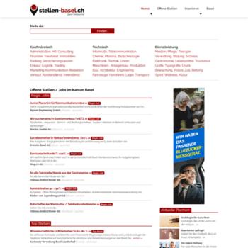 Stellen Baselch At Wi Jobs Stellenangebote Region Basel Und