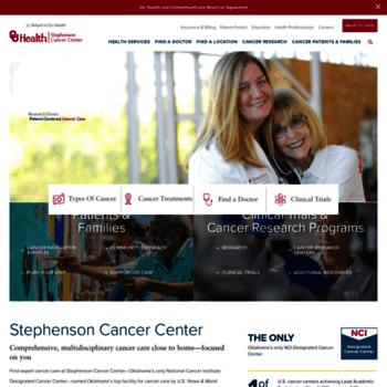 Stephensoncancercenter.org thumbnail
