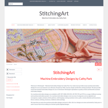 Stitchingart.com thumbnail
