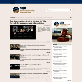 Stjd.org.br thumbnail