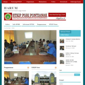 Stkipptk.ac.id thumbnail