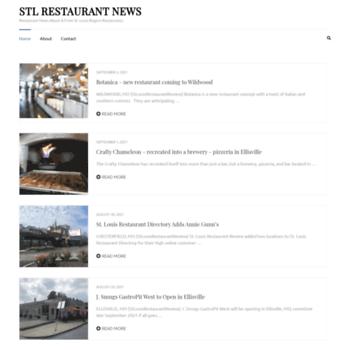 stlrestaurant news at WI  Restaurant News | STL News