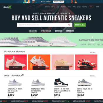 StockX: Sneakers, Streetwear, Trading Cards, Handbags, Watches