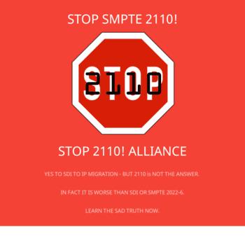 Stop2110.org thumbnail