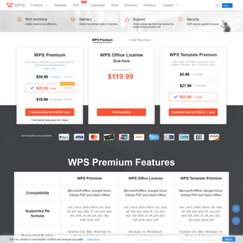 store wps com at WI  Office Premium - PDF to Word - WPS Data