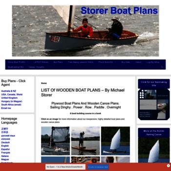 storerboatplans com at WI  Plywood Boat Plans - Build a