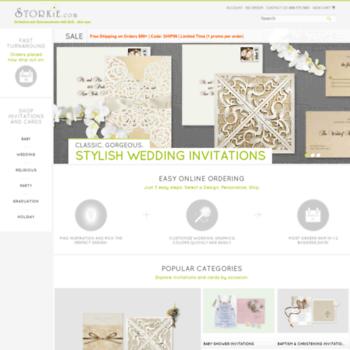 Storkie Com At Wi Baby Shower Invitations Wedding Invitations