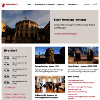 Stortinget.no thumbnail