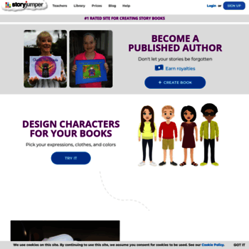 storyjumper com at wi storyjumper 1 rated site for creating story
