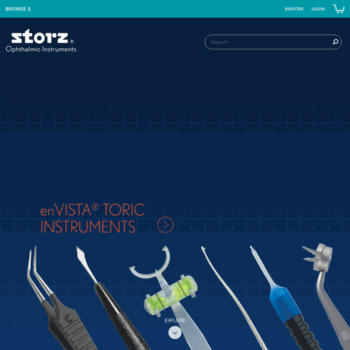 storzeye com at WI  Home | Storz® Ophthalmic Instruments