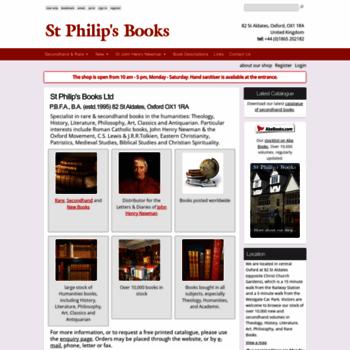 Stphilipsbooks.co.uk thumbnail