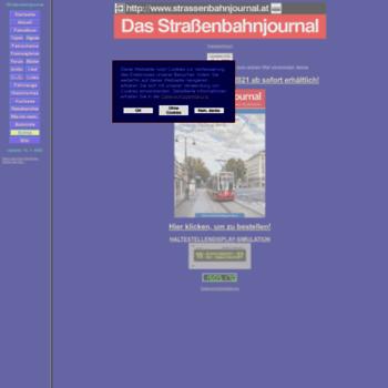 Strassenbahnjournal.at thumbnail